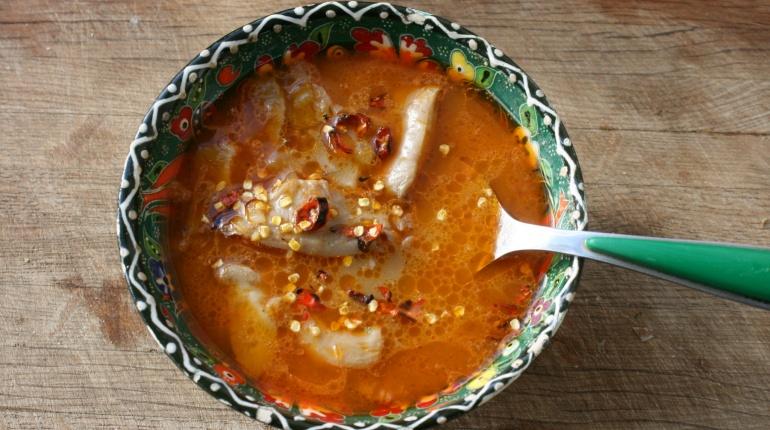Vegan tripe soup